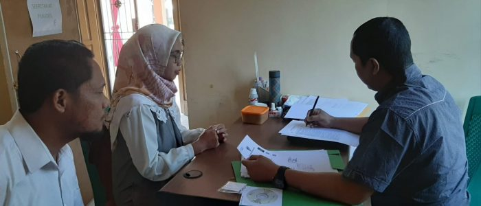 Keinginan Kuat Membangun Desa, Anna Widya Putri Calonkan Diri Sebagai Bakal Calon Kades Kasang Kumpeh