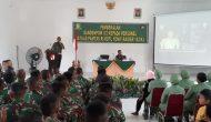 Permalink ke Personel Satgas Pamtas Yonif R 142/KJ Menerima Pembekalan dari Dandenpom II/2 Jambi