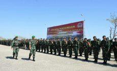 Permalink ke Tiba Diperbatasan Indonesia-Timor Leste, Personel Yonif Raider 142/KJ Gantikan Yonif Raider 408/Sbh