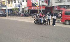 Permalink ke Dukung Maklumat Walikota Fasha, BNN Kota Jambi Bagi-bagi Masker Gratis