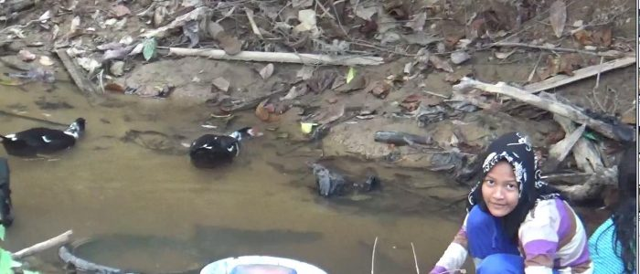 Dampak Kemarau, Warga Desa Jangga Sulit Mendapatkan Air Bersih