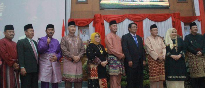 Hadiri Peringatan HUT Kabupaten Muarojambi, Wabup Amir Sakib Ucapkan Selamat
