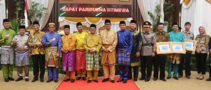 DPRD Tanjabtim Gelar Paripurna HUT Kabupaten Tanjabtim ke-20 Tahun