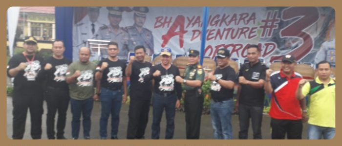 Zabak BhayangkaraAdventure Offroad ke # 3 Jelajah Alam Dibuka Jenderal Polisi Bintang Dua