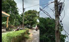 Permalink ke Kondisi Tiang Listrik di RT. 05 Desa Pematang Lumut Mengkuatirkan