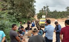 Permalink ke Warga Desa Terjun Gajah Blokade Jalan Simpang Abadi, Kendaraan Petrochina Disetop