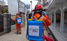 Permalink ke ACT Jambi Lakukan Aksi Penyemprotan Disinfektan di Tiga Titik