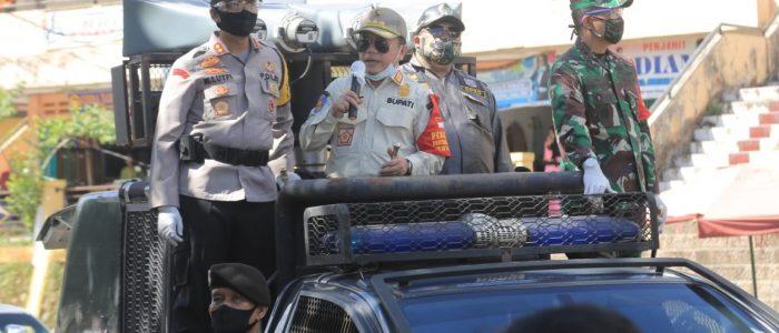 Disiplin Warga Pakai Masker Kendur, H Al Haris Turun Tangan Sosialisasikan New Normal