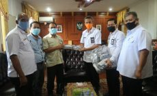 Permalink ke Pemkab Tanjabbar Terima Bantuan 9000 PCS Masker dari PT. Petro China International Jabung Ltd