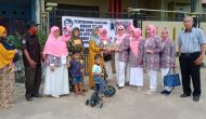 Permalink ke Lewat DPD KPPI Jambi, Kemenkes RI bersama Komisi IX DPR RI Bagi-bagi Biskuit MP-ASI kepada Balita dan Ibu Hamil di Posyandu Bunga Raya