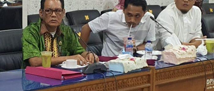 Hearing bersama Dinsos Kota, HM Kembali Pertegas Penyaluran Bantuan Harus Tepat Sasaran