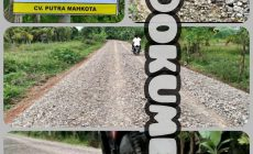 Permalink ke Aneh, Papan Proyek Peningkatan Jalan Kota Kandis – Trimulyo Kecamatan Dendang Tak Mencatum Pagu Anggaran dan Konsultan Pengawas