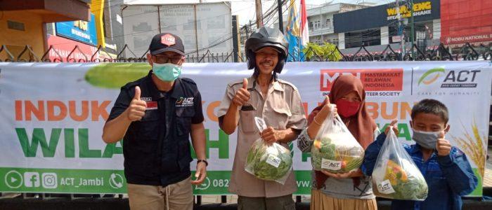 Bekerjasama Berbagai Mitra, ACT Jambi Mengaktivasi Posko Lumbung Sedekah Pangan