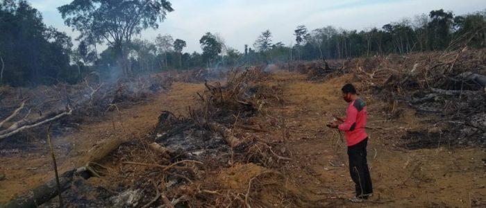 8 Titik Api Ditemukan di 7 Kecamatan di Batanghari