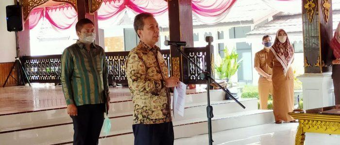 Bupati Syahirsah Lantik Mulawarmansyah Jadi Penjabat Sekda Batanghari