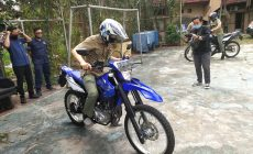 Permalink ke Yamaha WR 155 Jadi Kendaraan Operasional Petugas Pengawas Kebakaran Hutan dan Lahan di Jambi