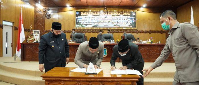 DPRD Tanjab Barat Buka Raperda Perubahan APBD TA.2020