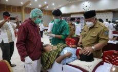 Permalink ke 100 Anak se-Kecamatan Ikuti Sunat Massal,Bupati Safrial Apresiasi Kegiatan BAZNAS dengan Protokol Kesehatan