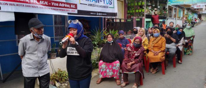 Luar Biasa…!! Goro Buat Posko Sendiri, Emak – Emak Koto Renah Solid Menangkan Fikar – Yos