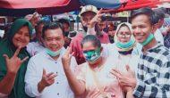 Permalink ke Masih di Bungo, Al Haris Blusukan ke Pasar dan Silaturahmi dengan 3 Tim Sayap Haris-Sani
