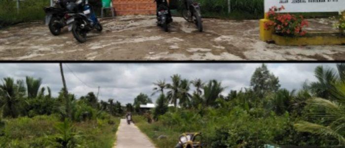 Pembangunan Infrastuktur di Kelurahan Sriwijaya Melalui DAW Disambut Baik oleh Masyarakat