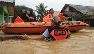Permalink ke Puluhan Rumah Terendam Banjir, BPBD Muaro Jambi Evakuasi Korban Banjir