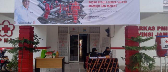 PMI Provinsi Jambi Buka Posko Peduli Gempa Sulbar
