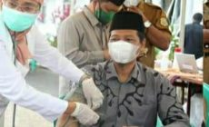 Permalink ke Ketua DPRD Tanjabtim Ikut Vaksinasi Tahap II