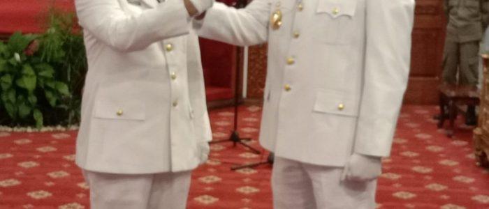 Gubernur Jambi Lantik Anwar Sadat dan Hairan jadi Bupati dan Wakil Bupati Tanjabbar Definitif