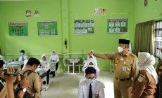 Permalink ke Walikota Fasha Masuk Sekolah di Hari Pertama PTM