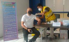 Permalink ke Pegawai di Lingkungan Dishub Provinsi Jambi Melaksanakan Vaksinasi