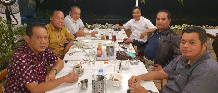 Mayjen TNI Tatang Zaenudin Dijamu Anggota Dewan Kota Jambi