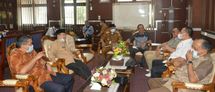 Bupati Merangin Sambut Kunker Komisi III DPRD Provinsi Jambi