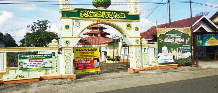 Wilayah Berzona Merah dan Oranye di Batanghari Dilarang Laksanakan Shalat IED di Masjid