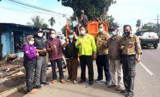 Permalink ke Disaksikan HM, Lapak PKL di Gerbang Masuk Kota Jambi Dirapikan