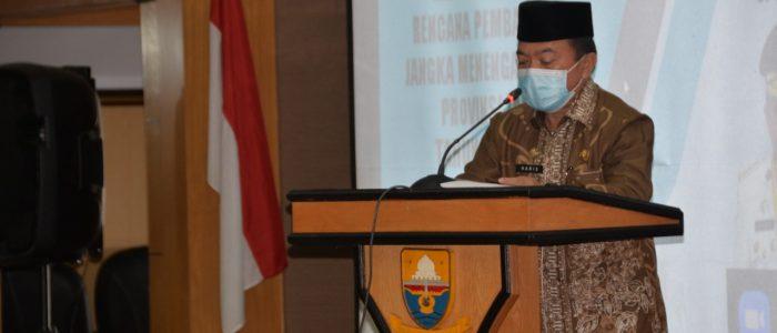 Al Haris : Melalui Forum Konsultasi Publik RPJMD Dapat Menghimpun Masukan Program Pembangunan Provinsi Jambi