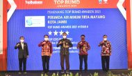 Permalink ke Event Terbesar dan Membanggakan, Walikota dan Perumdam Tirta Mayang Kota Jambi Raih Penghargaan Top BUMD Awards 2021