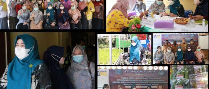 Desa Bram Itam Raya Buka Pelatihan Dasawisma Berbasis Aplikasi Web