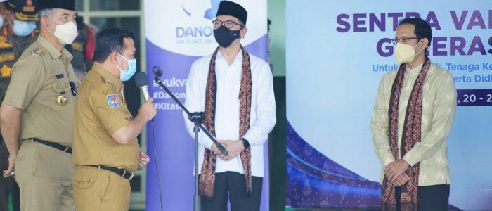 Gubernur Al Haris Yakinkan Mendikbud Ristek, Jambi Siap Laksanakan Pembelajaran Tatap Muka