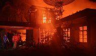 Permalink ke Breaking News! Diduga Konsleting Listrik, Satu Rumah Warga di Muara Bulian Ludes Terbakar