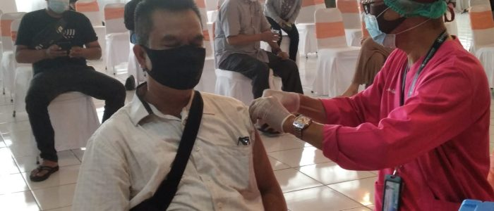 Bantu Pemerintah Tanggulangi Covid-19, di Jambi BEI Gelar Vaksin Gratis
