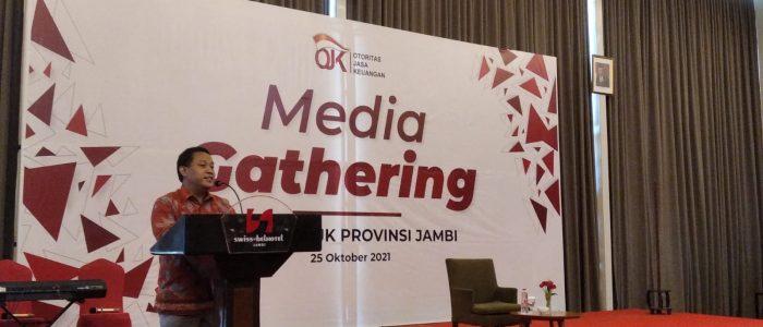 Gelar Media Gathering, Kepala OJK Jambi Perkenalkan SMAP