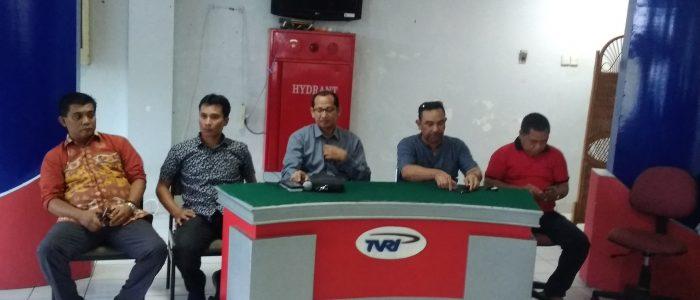 Didampingi Jajaran Humas Pemprov Jambi, Puluhan Wartawan Kunjungi Stasiun TVRI Sumbar