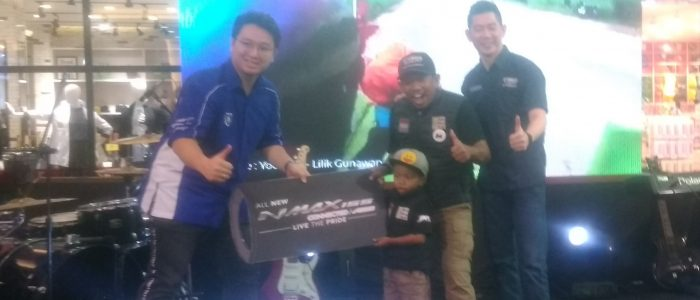 Peluncuran All New NMAX 155 Connected/ABS di Hadiri Lilik Gunawan Rider Indonesia