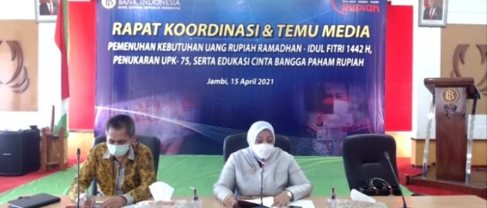 Dalam Rangka Mengantisipasi Kebutuhan Uang Masyarakat Periode Ramadhan dan Idul Fitri 1442H/2021M, KPwBI Siapkan Persediaan Uang Rupiah yang Cukup Baik