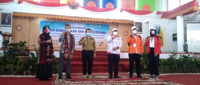 Pembukaan KKN Kebangsaan dan KKN Bersama di Universitas Jambi Berlangsung Sukses