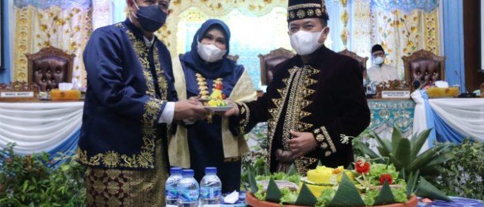Gubernur Jambi Al Haris Hadiri Sidang Paripurna DPRD Kabupaten Muaro Jambi Dalam Rangka HUT ke-22 Kabupaten Muaro Jambi